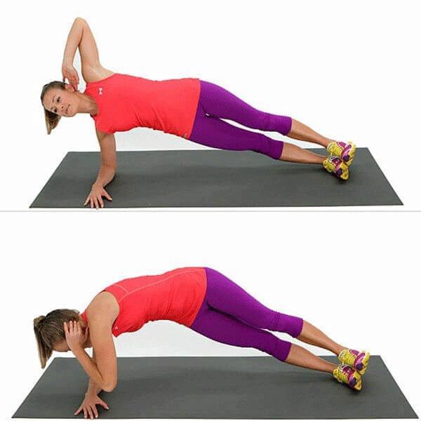 1 phút plank bằng 60 lần gập bụng, nàng hãy áp dụng ngay để nghỉ lễ không lo béo bụng-6