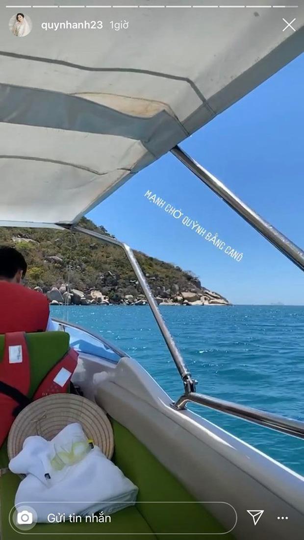 """Duy Mạnh tự lái ca nô cho vợ dạo biển, Văn Đức hí hửng mua đồ cho tiểu công chúa"""": Đặc điểm chung của các ông bố tương lai đây mà!-4"""