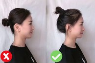 Mùa Hè hay búi tóc, chị em nhớ thêm 1 bước này để trẻ xinh hơn