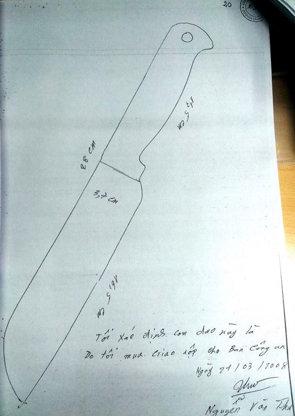 Kỳ án tử tù Hồ Duy Hải - Kỳ 1: Mua con dao ở chợ làm tang vật thay hung khí bị mất-3