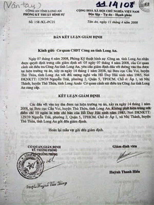 Kỳ án tử tù Hồ Duy Hải - Kỳ 1: Mua con dao ở chợ làm tang vật thay hung khí bị mất-4