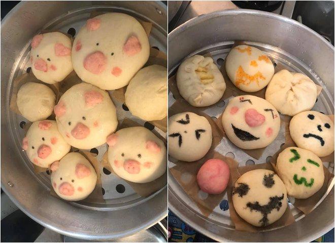 Phan Như Thảo làm bánh bao hình thú và cái kết không toang như hội chị em ghét bếp-2