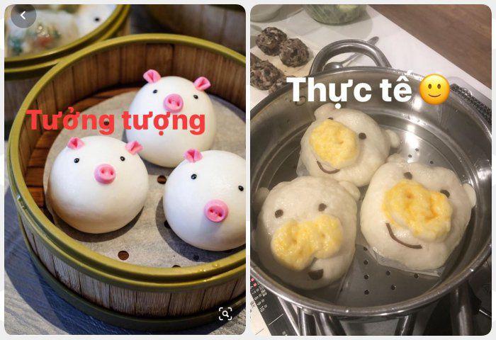 Phan Như Thảo làm bánh bao hình thú và cái kết không toang như hội chị em ghét bếp-3