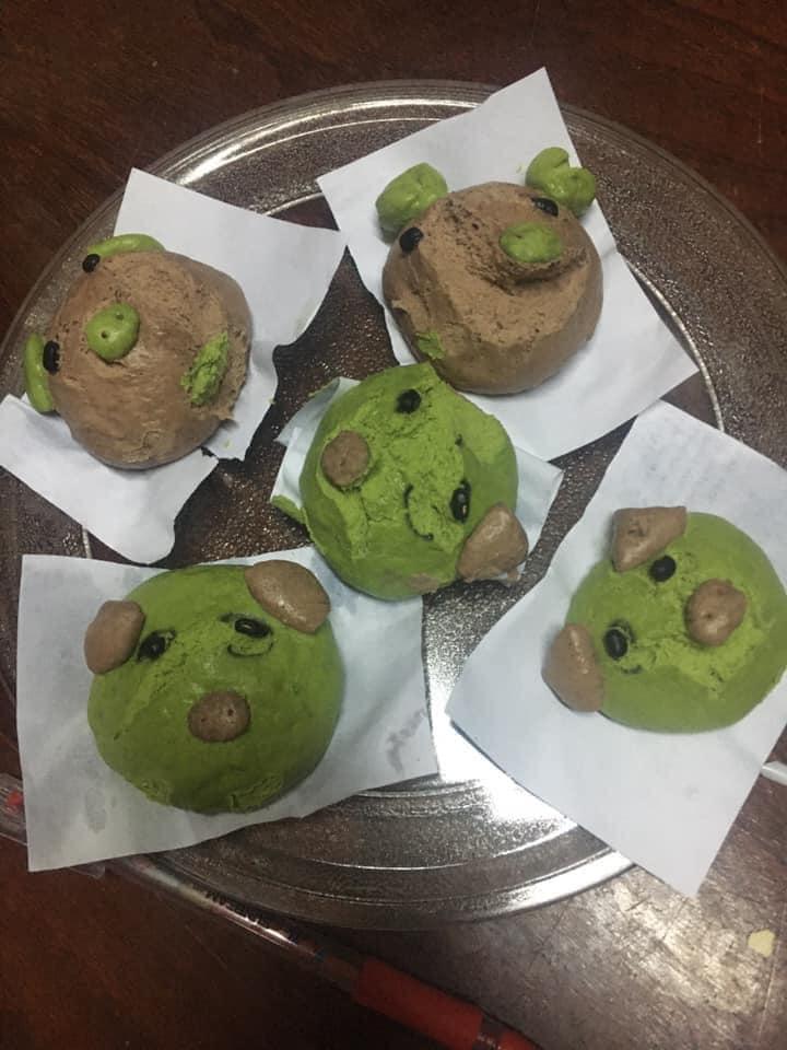 Phan Như Thảo làm bánh bao hình thú và cái kết không toang như hội chị em ghét bếp-6