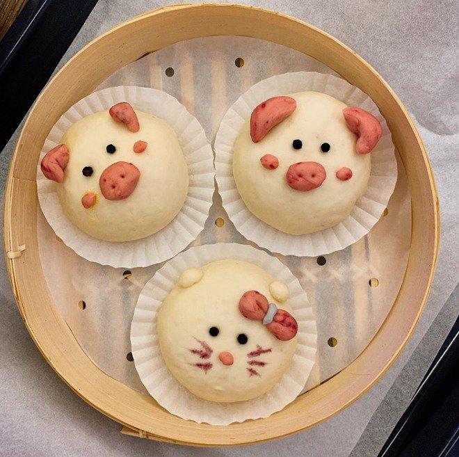 Phan Như Thảo làm bánh bao hình thú và cái kết không toang như hội chị em ghét bếp-9