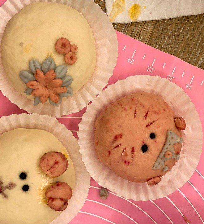 Phan Như Thảo làm bánh bao hình thú và cái kết không toang như hội chị em ghét bếp-10