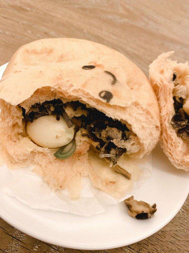 Phan Như Thảo làm bánh bao hình thú và cái kết không toang như hội chị em ghét bếp-19