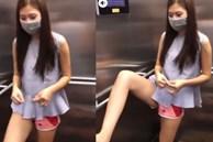 Chúng Huyền Thanh bị chỉ trích mạnh mẽ vì dùng chân bấm thang máy, chồng lên tiếng giải thích nhưng không đủ thuyết phục