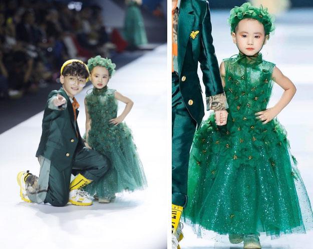 Bé Hà My - mẫu nhí 4 tuổi bị ung thư từng được hoa hậu HHen Niê bế trên sàn catwalk khiến bao người rơi nước mắt đã qua đời-2