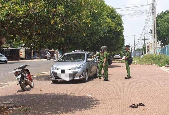Lời khai bất ngờ của tài xế taxi đâm chết đồng nghiệp-1