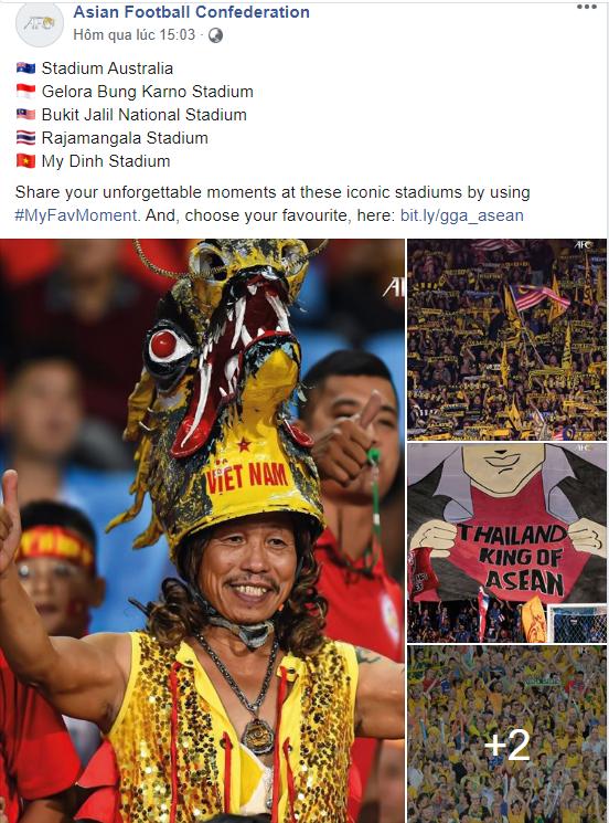 Tranh cãi nảy lửa khi AFC đăng ảnh Thái Lan là ông vua Đông Nam Á: Fan Việt phản bác mạnh mẽ, nhưng lý luận của đối phương lại chỉ ra sự thật đắng lòng-4
