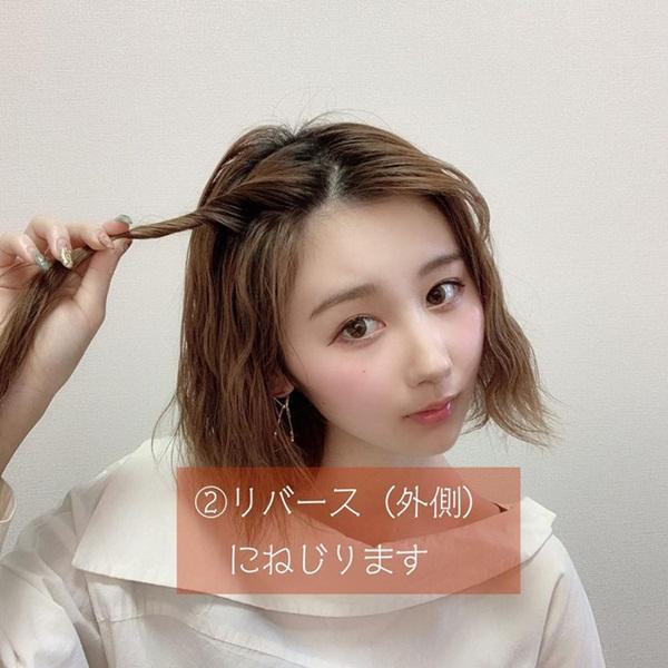 Hè muốn kẹp tóc mái lên cho mát nhưng sợ xấu và lộ hết góc chết, chị em phải học ngay 4 tuyệt chiêu sau-2