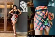 Tính lấy túi làm váy để 'chơi cho vui', Hoa hậu Kỳ Duyên chẳng thể ngờ lại nổi khắp các trang mạng thế giới