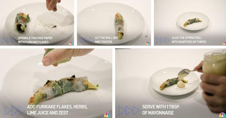 Tranh cãi nảy lửa xoay quanh clip hướng dẫn làm gỏi cuốn của trang NBC: Rõ ràng là một sự xúc phạm với bánh tráng!-2