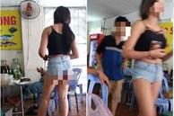 Hè nắng nóng, mặc quần đùi siêu ngắn phục vụ tại quán ăn, cô gái 'hớ hênh' khiến dân mạng ngao ngán