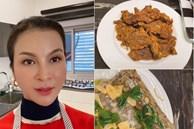 9 năm trước tuyên bố không mê nấu ăn, giờ 'mỹ nhân không tuổi' Thanh Mai thay đổi hoàn toàn