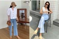 10 kiểu áo mix cùng quần ống rộng đẹp thần sầu, hè diện mát mẻ mà vẫn trendy nàng nào cũng nên copy