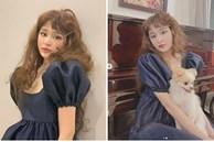 Chán tóc ngắn 'Mỹ Linh', Hiền Hồ bất ngờ để tóc xoăn xù xinh như búp bê