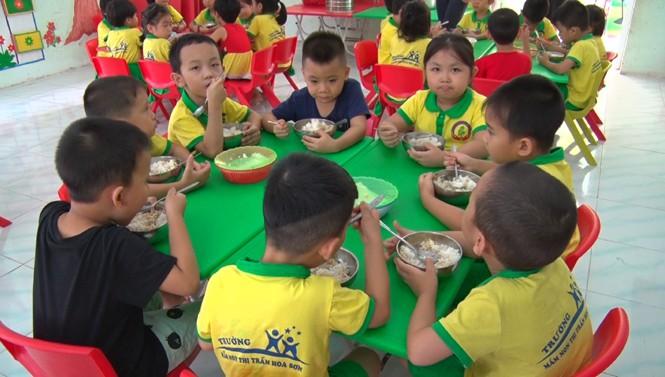 Bữa ăn cho trẻ mầm non, học sinh tiểu học Thủ đô đi học lại sẽ như thế nào?-1