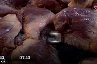Bắt giữ 6 tấn chân gà, tim, nầm, dạ dày lợn bẩn nhập lậu về Hà Nội