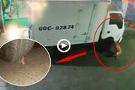 Bức xúc vì xe tải đỗ trước nhà, người đàn ông đã 'dằn mặt' tài xế xe tải bằng 1 vật cực hiểm khiến ai nấy đều ức chế