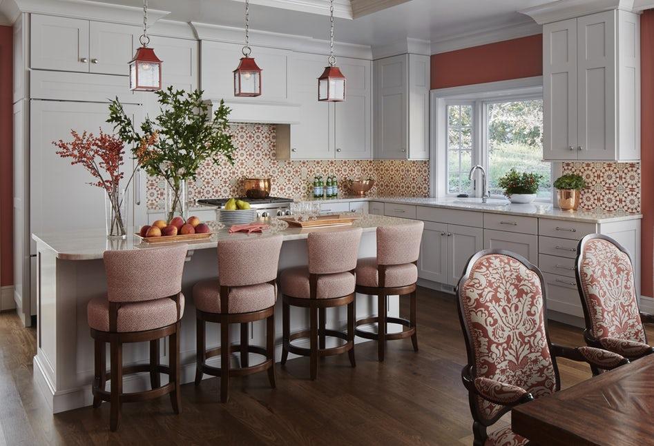 Một bộ ghế sắc màu cho căn bếp gia đình thêm xinh khiến tim ai cũng phải rung rinh-4