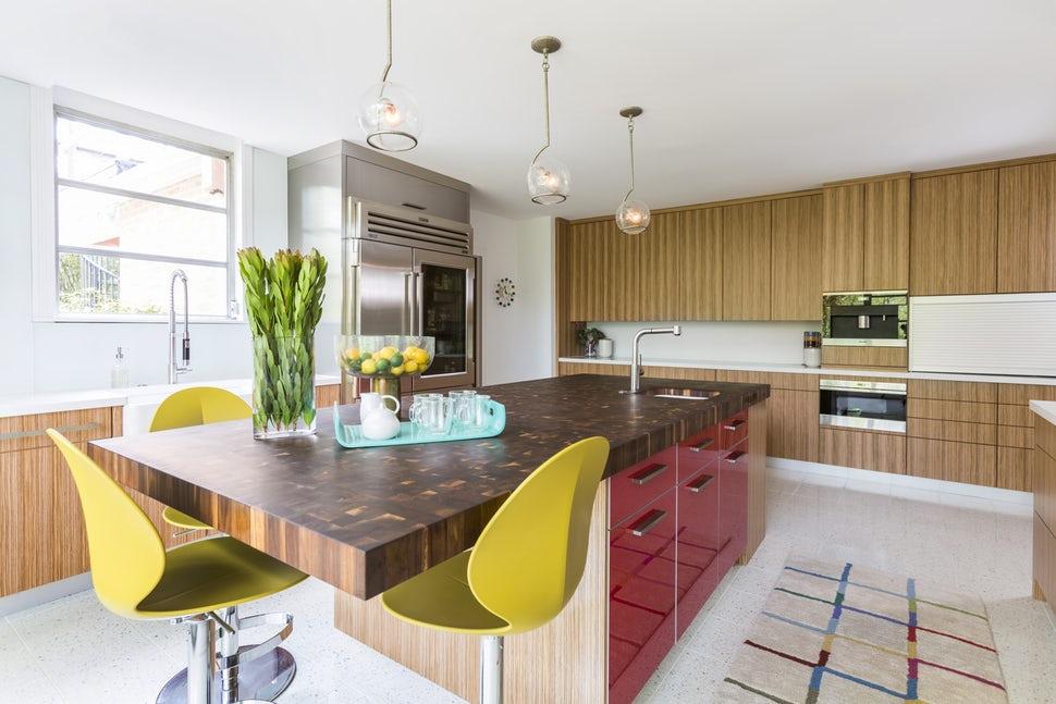 Một bộ ghế sắc màu cho căn bếp gia đình thêm xinh khiến tim ai cũng phải rung rinh-9