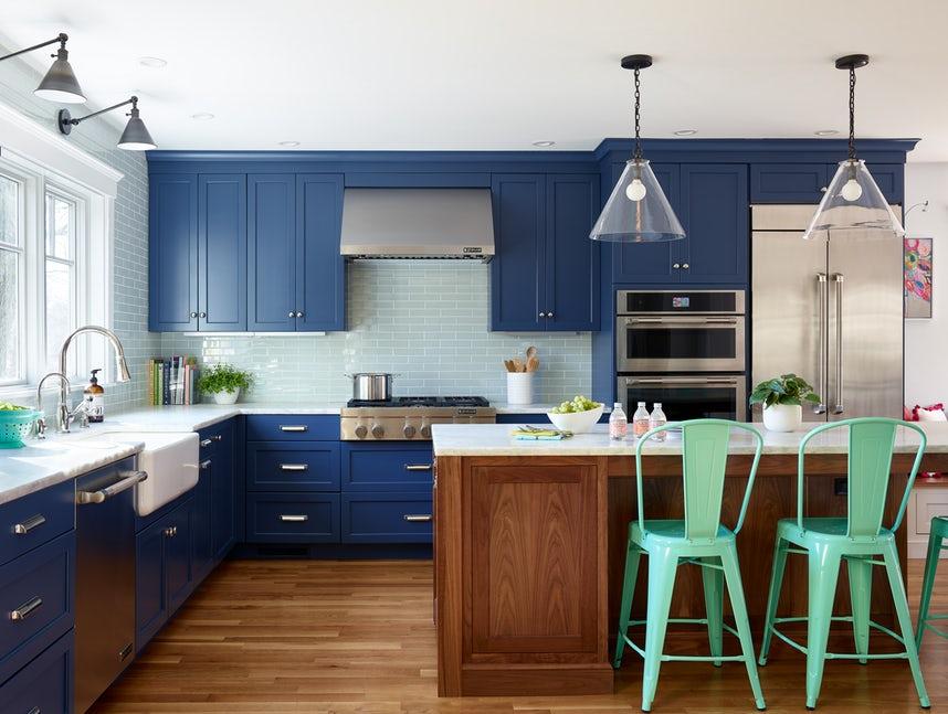Một bộ ghế sắc màu cho căn bếp gia đình thêm xinh khiến tim ai cũng phải rung rinh-10