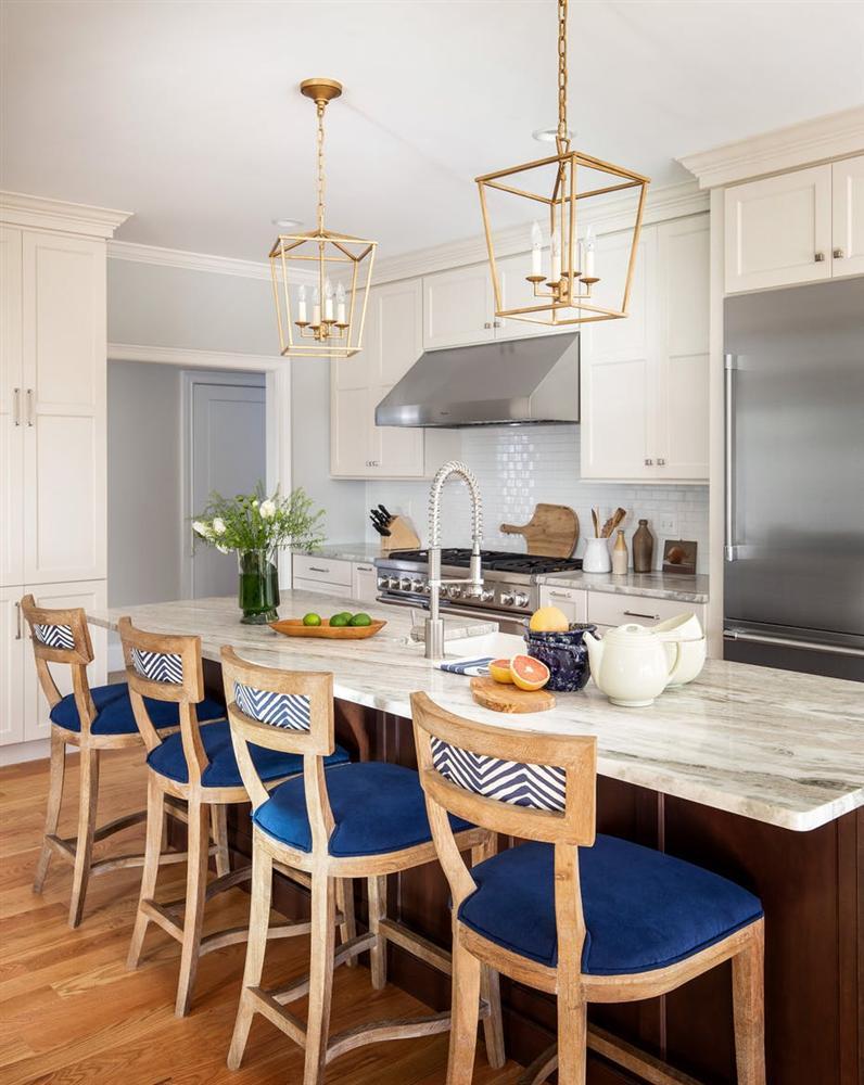 Một bộ ghế sắc màu cho căn bếp gia đình thêm xinh khiến tim ai cũng phải rung rinh-21