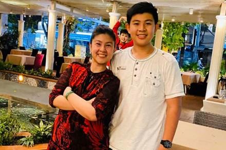 Diễn viên Kim Thư chia sẻ tin nhắn của con trai nhân