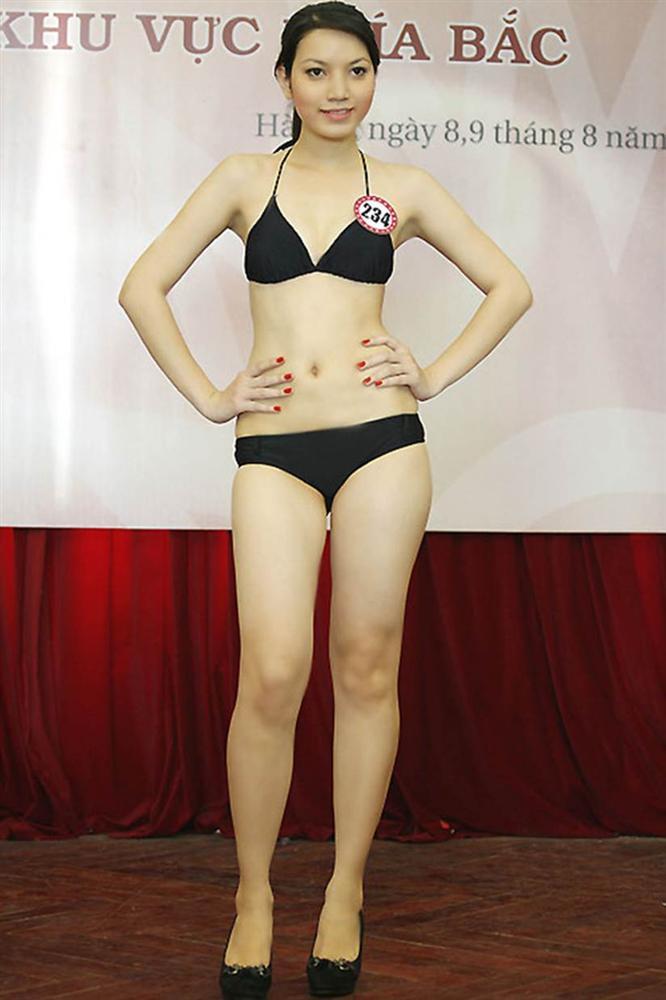 Sắc vóc vợ hai kém 14 tuổi của MC Anh Tuấn thời đi thi Hoa hậu Việt Nam-8