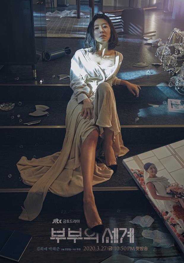 Tiết lộ cát xê tiền tỷ của đại minh tinh Kim Hee Ae cho mỗi tập Thế giới hôn nhân, Lee Min Ho bỗng bị réo gọi vì chênh lệch?-1