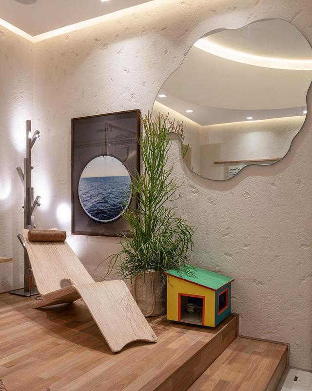 Nhà 25m2 gây ấn tượng thị giác cực mạnh nhờ cách bố trí nội thất thông minh-6