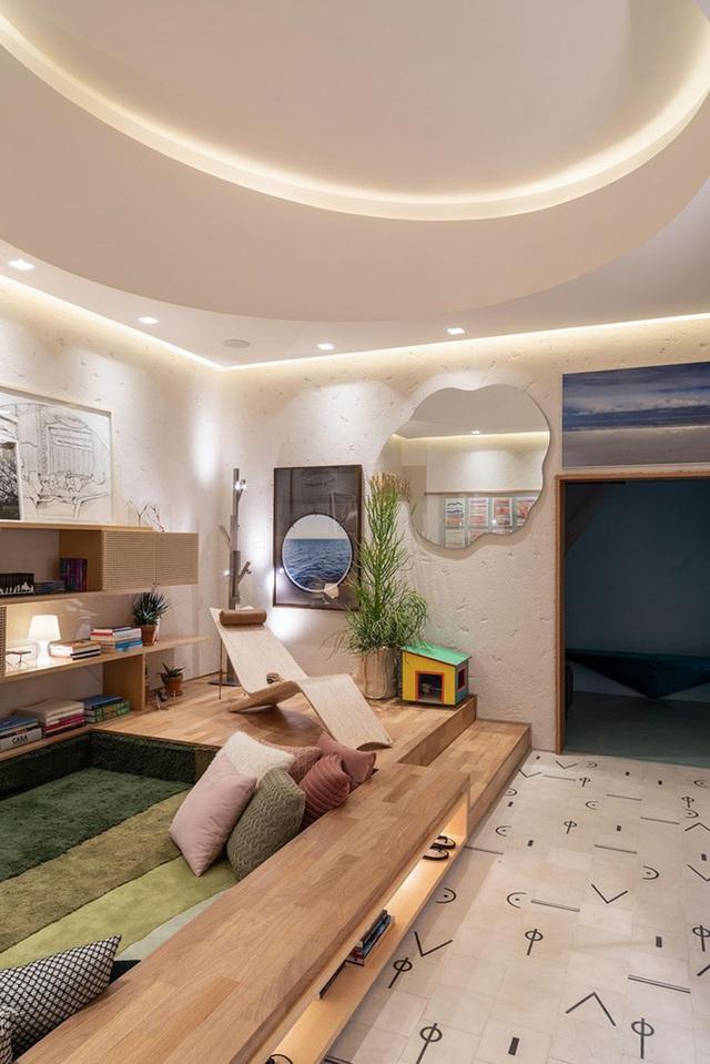 Nhà 25m2 gây ấn tượng thị giác cực mạnh nhờ cách bố trí nội thất thông minh-7
