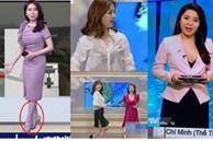 Sự cố 'tím lịm người' của BTV thời tiết ngày hôm qua chưa là gì với cả loạt sự cố trang phục trên sóng truyền hình này