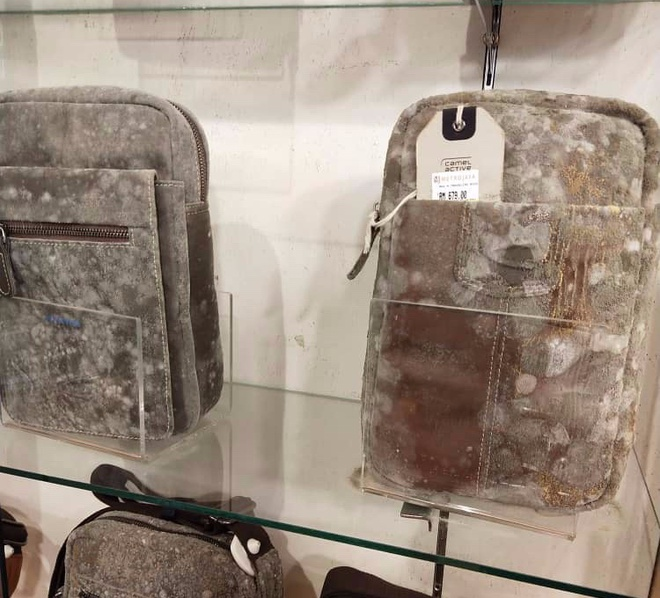 Giày, túi đắt đỏ ở cửa hàng mốc trắng xóa sau 2 tháng nghỉ bán-2