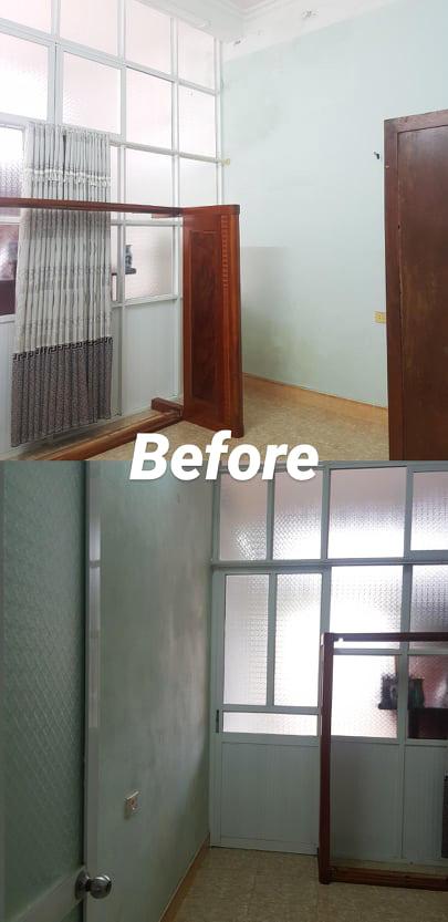 Sau gần 3 tháng nghỉ học, cô gái hô biến căn phòng chứa đồ thành phòng ngủ với thiết kế tone trắng mát mắt, sành điệu-8