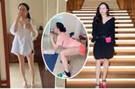 Phượng Chanel tuổi 40+ vẫn tự tin khoe chân dài nuột nà thẳng tắp: Thành quả của việc chăm chỉ tập yoga, chạy bộ 1 tiếng mỗi ngày
