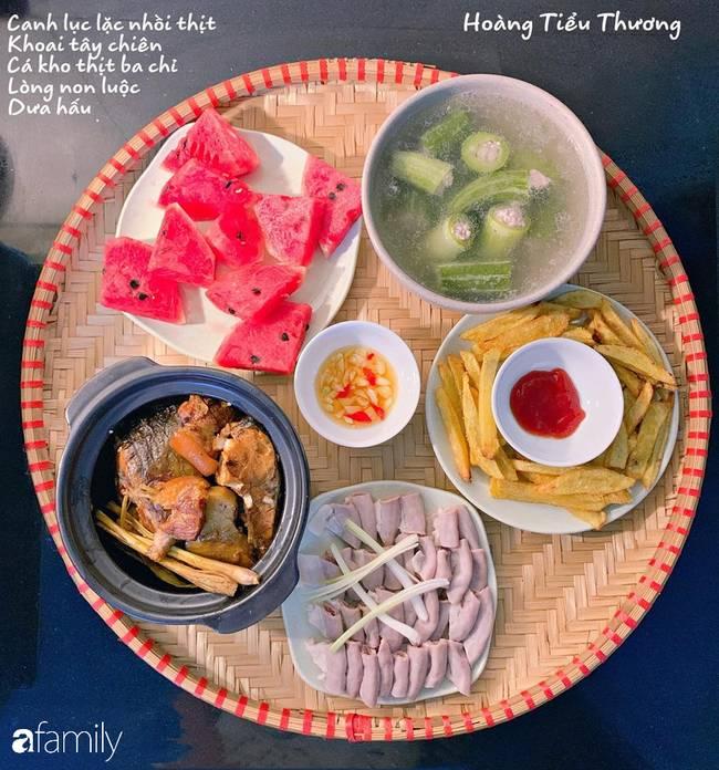 Bà mẹ của 3 cô con gái ở Hà Nội chia sẻ bí quyết đi chợ làm những mâm cơm mẹt đầy đặn giá chỉ 100-150 ngàn đồng cho 6 người ăn thoải mái-7