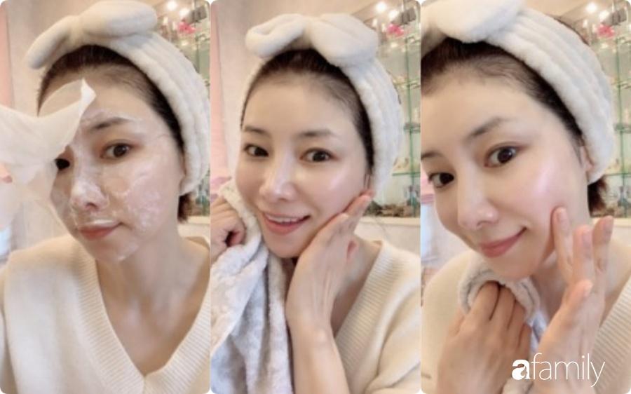 Phù thủy làn da của Nhật 53 tuổi da dẻ vẫn căng mịn như gái 18: Bí quyết chỉ ở 2 bước dưỡng rẻ bèo mà ai cũng làm được-9