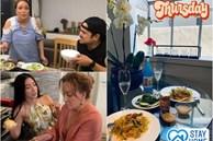 Danh ca Thanh Hà nấu ăn, fan mải ngắm phản ứng của tình trẻ và con gái lai của cô