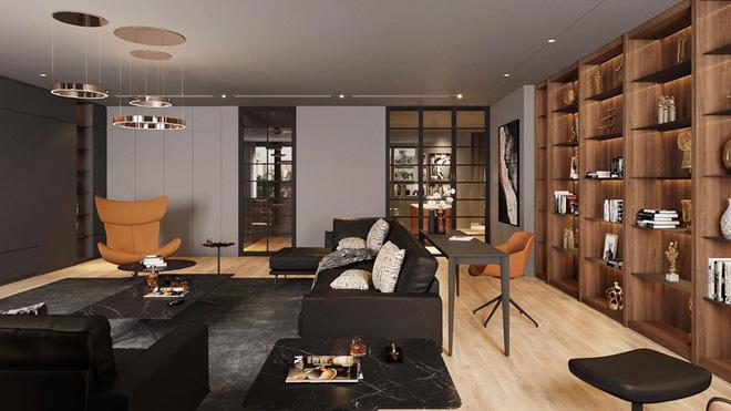 Sau khoảng thời gian đi thuê nhà, MC Thành Trung khoe căn hộ mới sang trọng, hiện đại-9