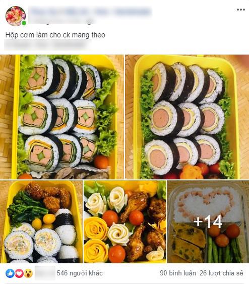 """Cô vợ đảm chia sẻ loạt bữa trưa ngon đẹp xuất sắc khiến ai cũng ghen tị"""" với anh chồng số hưởng""""-1"""