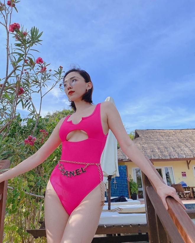 Tóc Tiên vẫn thích diện váy áo gợi cảm sau khi kết hôn-5