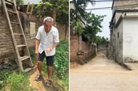 Tiếp tục cưỡng chế, phá tường giải cứu cụ bà gần 80 tuổi ốm liệt giường bị hàng xóm 'nhốt' trong nhà