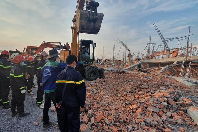 Hiện trường vụ sập công trình xây dựng làm 10 người chết ở Đồng Nai-1