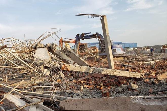 Hiện trường vụ sập công trình xây dựng làm 10 người chết ở Đồng Nai-4