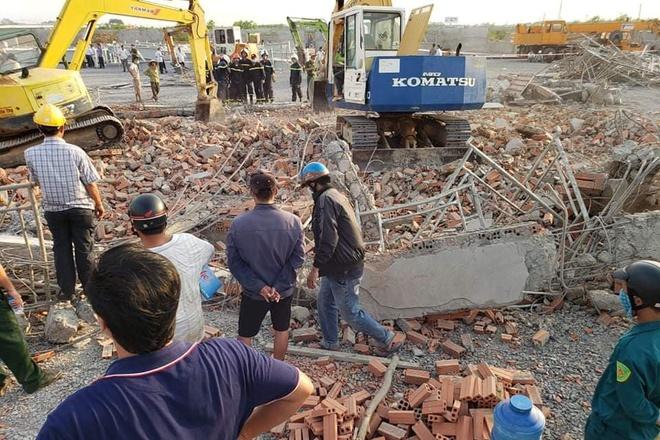Hiện trường vụ sập công trình xây dựng làm 10 người chết ở Đồng Nai-5