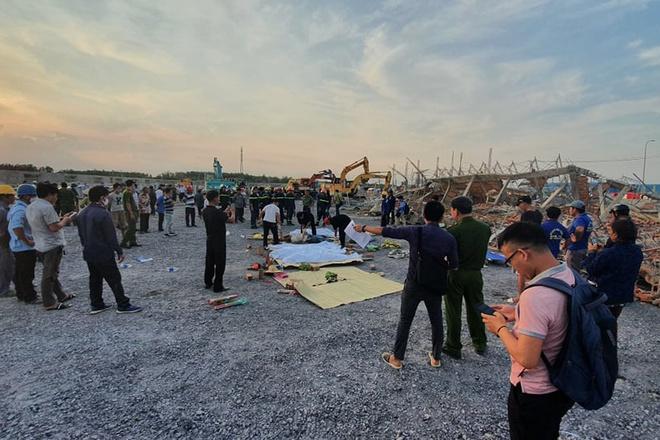 Hiện trường vụ sập công trình xây dựng làm 10 người chết ở Đồng Nai-7