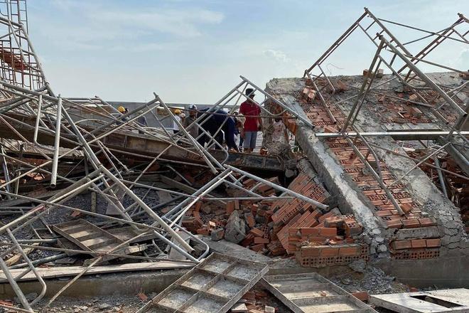 Hiện trường vụ sập công trình xây dựng làm 10 người chết ở Đồng Nai-8